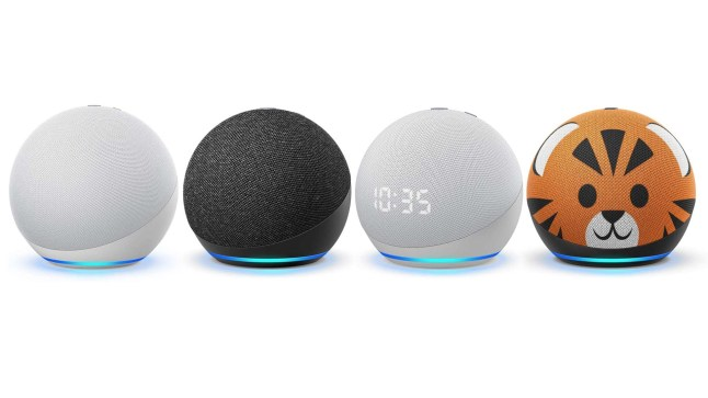The New Amazon Echo which moves, Amazon's new Echo lineup