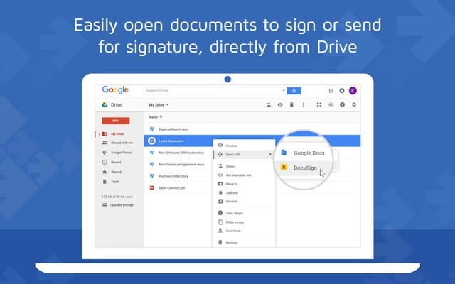 How to use Google docs to digitally sign a document.